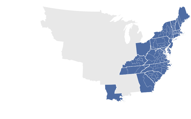 US Congressional District Shapefiles - Louisiana us representative map